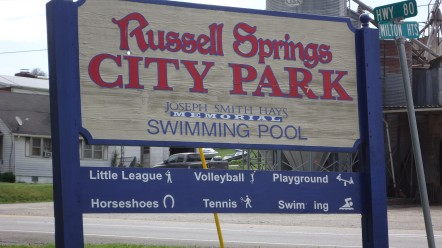 Russell Springs City Park and Outdoor Public Pool