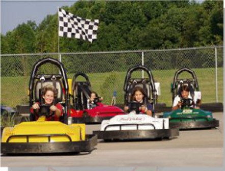 Mini Indy Go Kart Track and Family Fun Center