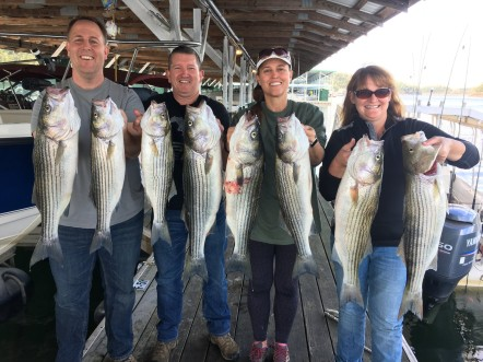 Smite the Rocks Lake Cumberland Fishing Guide & Lake Charters