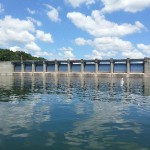Photo of Wolf Creek Dam in Jamestown Kentucky