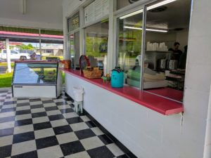 The Little Chop Shop is a very popular bbq restaurant in Russell Springs serving a full menu of bbq chicken, beef and port as well as homemade Kentucky fudge.