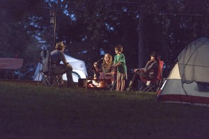 photo of a family camping at Lake Cumberland State Resort Park