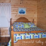 peaceful valley cabin inside 1