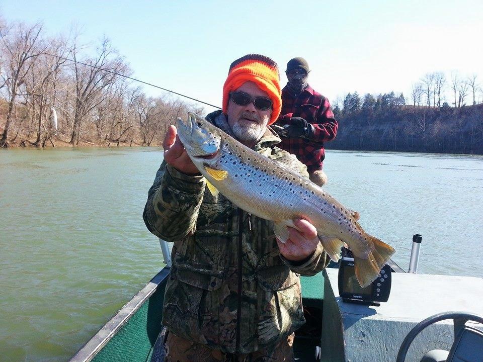 Cumberland river adventures fishing guides lake for Lake cumberland fishing