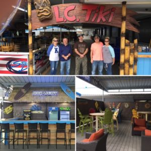 LC Tiki Bar & Grill is a wonderful waterfront restaurant located at State Dock Marina on Lake Cumberland.