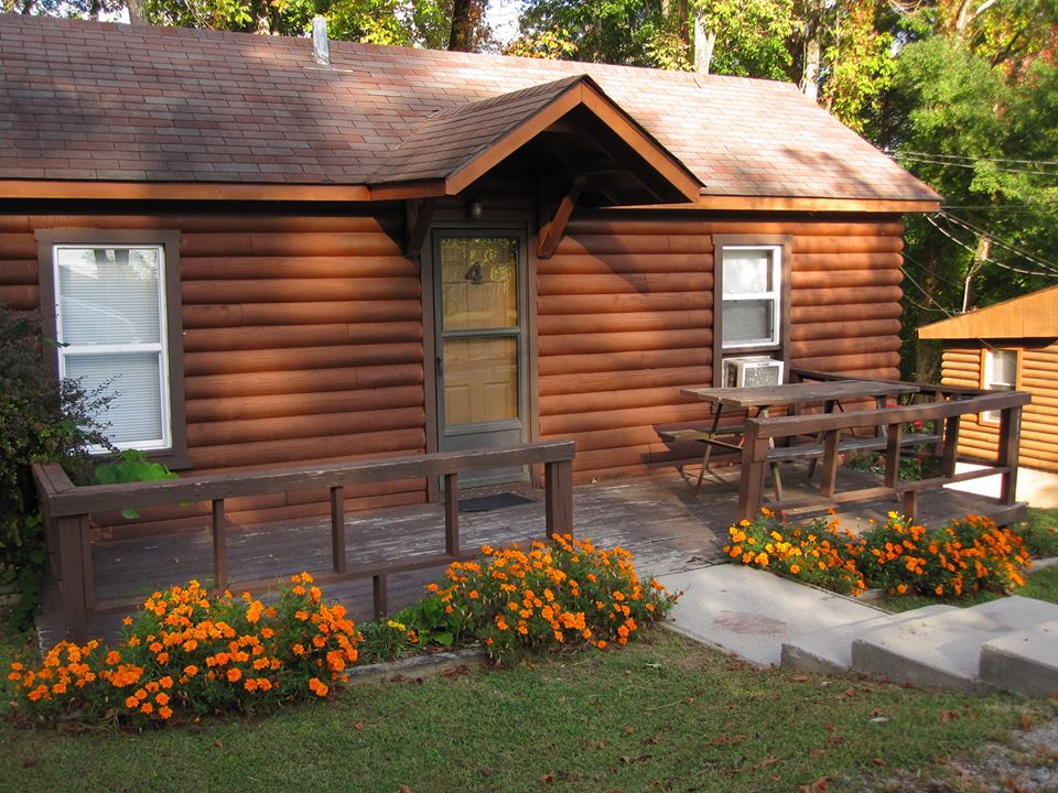 Photograph Of A Small Log Cabin Rental On Lake Cumberland From Indian Hills  Resort Alligator II