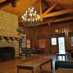 photo of the inside lobby at Pumpkin Creek Lodge - Lake Cumberland State Resort Park