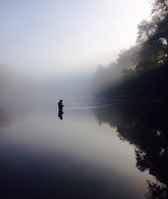Fly fishing clinic wolf creek national fish hatchery for Lake cumberland fishing
