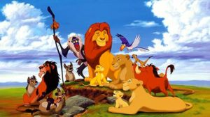 Photo of the Lion King animated movie playing in Jamestown near Lake Cumberland