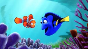 Finding Dory movie playing at Lake Cumberland's Beck Park in Jamestown