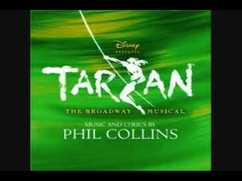photo of the musical Tarzan