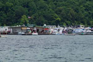 Photo of Alligator II Marina with houseboats on Lake Cumberland