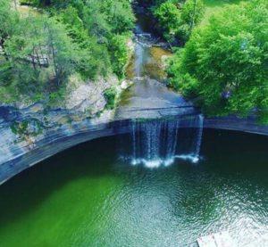 Photo of 76 Falls - the largest waterfall on Lake Cumberlnad