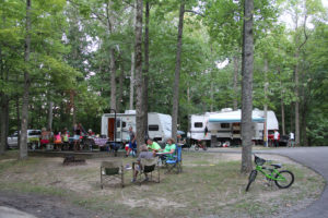 Lake Cumberland has many great options for camping and campgrounds.