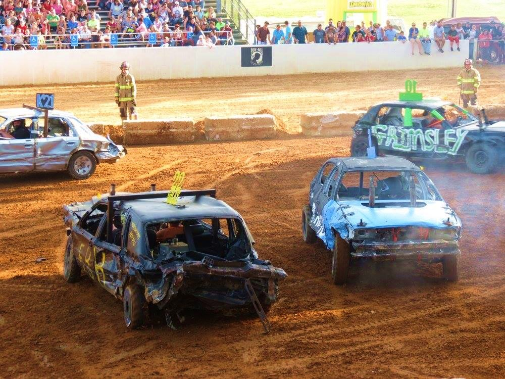 Russell County Fair demolition derby close to Lake Cumberland