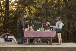 Lake Cumberland State Resort Park campground on Lake Cumberland