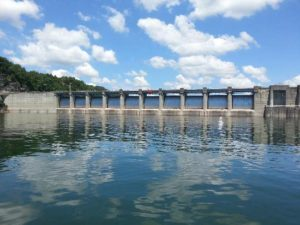 Wolf Creek Dam is one of the top places in the United States for fly fishing