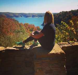 The Lake Cumberland State Resort Park has sweeping views of Lake Cumberland and the perfect spot to see the glory of fall leaves
