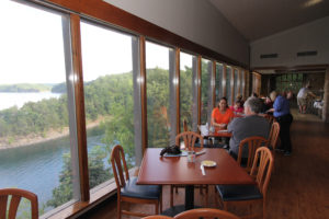 Beautiful Scenic View from restaurant at Lake Cumberland State Resort Park