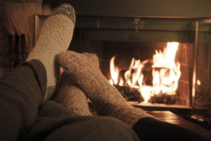 Lake Cumberland cabin rentals are perfect for a winter romantic getaway as you laze in front of a cozy fireplace.