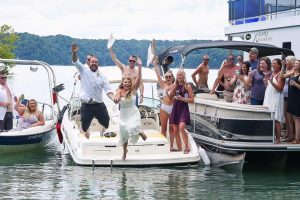 Lake Cumberland is the perfect spot for your destination wedding.