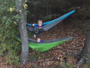 Primitive camping on the shores of Lake Cumberland is permitted in designated places.