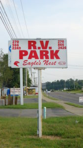 Eagle's Nest RV Park is located in Russell Springs Kentucky, off Highway 127. This campground is located close to Lake Cumberland or the Cumberland River.