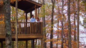 Lake Cumberland State Resort Park cabin rentals and lakeside hotel