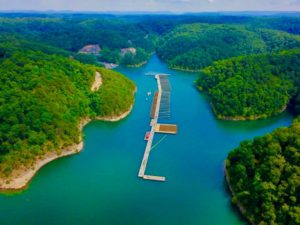 Marina Rowena on Lake Cumberland