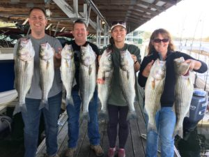 Smite the Rocks fishing guide service offers year round charters as well as Lake Charters and Tours