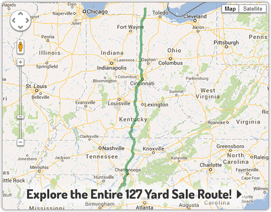 127 World's Longest Yard Sale