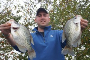 Crappie fishing on Lake Cumberland - Blue Moon Fishing Charters