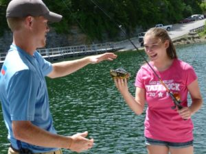 Lake Cumberland State Dock Kids Day