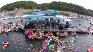 "The 2019 Lake Cumberland Raft Up is Saturday, August 3rd at the ""Shinbone"" on Lake Cumberland."