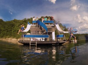 The best place to rent a houseboat is at Lake Cumberland Kentucky
