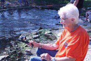 Kentucky fishing derby at Wolf Creek National Fish Hatchery