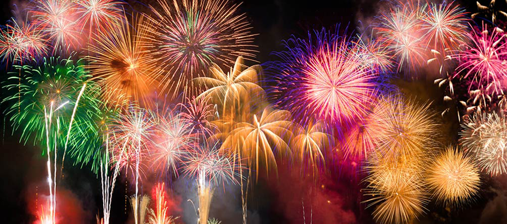 Fireworks over Lake Cumberland