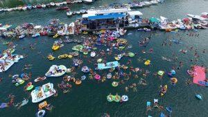 Lake Cumberland World's Largest Raft Up 2020