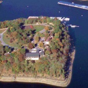 Lake Cumberland State Resort Park is surrounded by beautiful Lake Cumberland