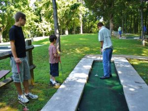 Lake Cumberland State Resort Park Miniature Golf