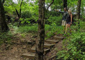 Great hiking trails around Lake Cumberland - Nature Explorer Trail at Wolf Creek National Fish Hatchery