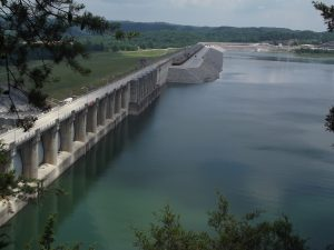 Lake Cumberland Wolf Creek Dam
