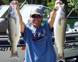 Lake Cumberland Striper Fishing