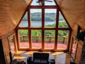 Kentucky Cabin Rentals - Look Out Lodge in Russell Springs Kentucky
