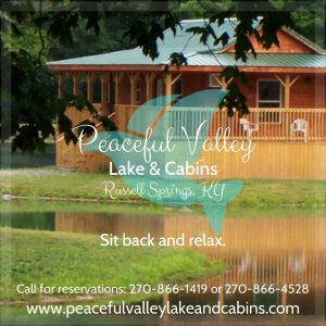 Lake Cumberland - Peaceful Valley Lake & Cabins