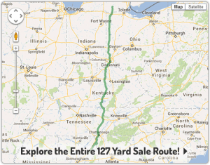 127 Sale - The World's Longest Yard Sale returns to Kentucky in 2021
