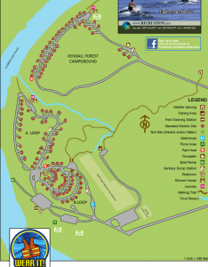 Lake Cumberland campgrounds - Kendall Recreation Area